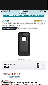 Life proof Case For iPhone 5/5s