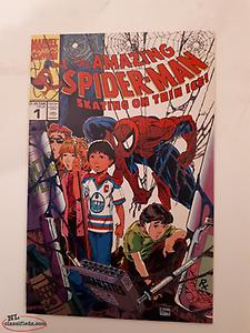 Vintage Spider Man Hockey and Drugs Comic
