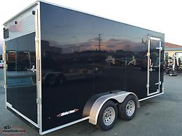 7 x 16 WeberLane Enclosed Trailer