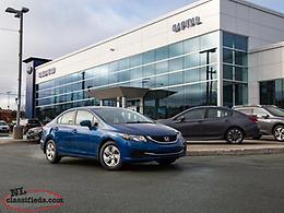 2014 Honda Civic Sedan Sedan LX CVT-$123.15 B/W