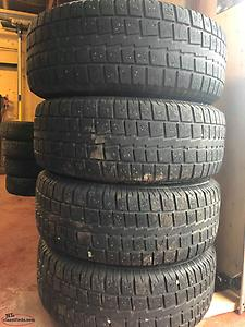 265/70r17 studded winter tires on ford f150 rims