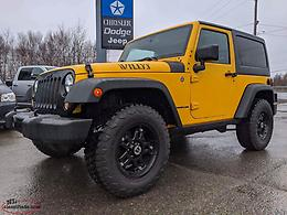 2015 JEEP WRANGLER WILLY'S EDITION 4X4 - ONLY $190+TAX BI-WEEKLY!!!!!!