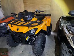 Can-Am Outlander 450 DPS {Orange 2019} {$61.58 Biweekly}