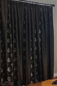 Custom Made Lined Drapes