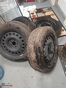 Winter and summer 09 Dodge avenger tires for sale