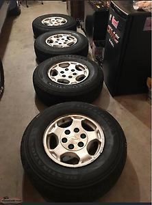 Chev Wheels And Tires