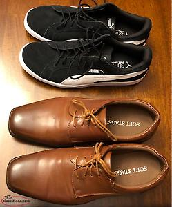 Casual Sneakers & Dress Shoes Size 10