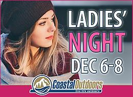 LADIES' NIGHT AT COASTAL OUTDOORS!