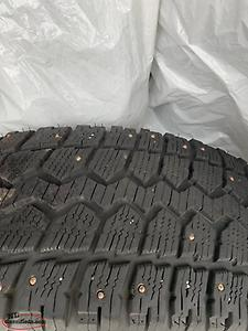 235 65 17 winter studded tires and rims