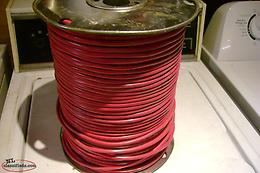 300 meters of 18/4 solid copper alarm wire