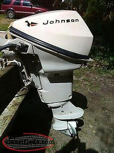 Johnson 9- 1/2 hp outboard motor