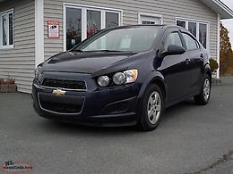 2015 Chevrolet Sonic with only 76kms!