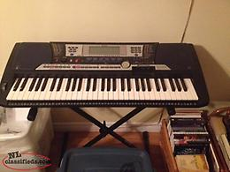 Keyboard. Yamaha PSR-540 W/Stand, Stool,& Carrying Case