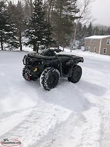 Can Am Outlander XTP 850