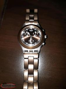 Swatch irony diaphane watch for sale