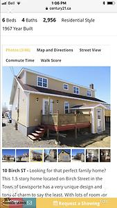 5 bedroom house for sale by owner lewisporte,cape cod style home .