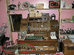 we deliver, Antique National Cash Register