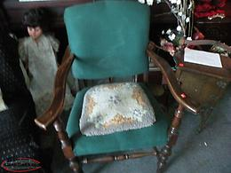 Newfoundland Antique Nfld Arm Chair. #1