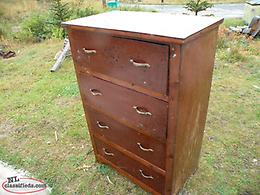 we deliver, Antique NL Made Chest of Drawers