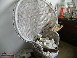 we deliver, Antique wicker chair, minor damage