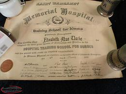 we deliver, 1930, Saint Margaret Memorial Hospital, Nursing Cert.
