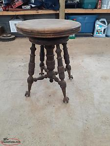 for sale antique organ stool\