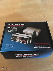 Classic Nintendo Game Console