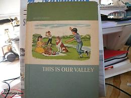 Newfoundland antique Very RARE NL SCHOOL BOOK. This is our Valley