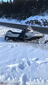 Selling a 2003 340 Polaris classic with reverse