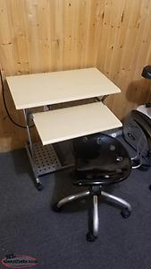 Computer Desk and Chair.