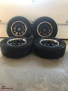 Winter Tire And 17 Inch Aluminum Rims For Sale