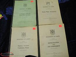 four booklets: ontario, department of labour, 1955 & 54, $10 ea