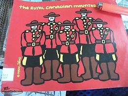 WE DELIVER, vintage RCMP book