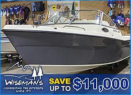 SAVE UP TO $11,000!! COASTAL BOAT PROGRAM