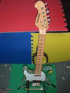 GALVESTON LEFTY ACRYLIC TELECASTER GUITAR