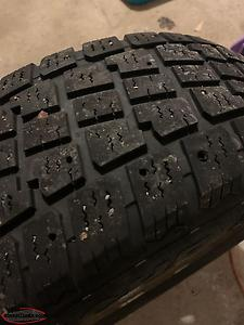 CrV Winter Rims And Studded Tires With Sensors