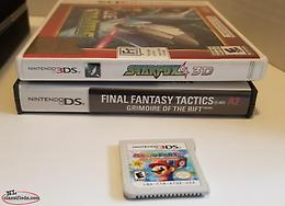 Over 20 Switch 3DS GC PS2 PS1 Games Mario Zelda Final Fantasy RPG