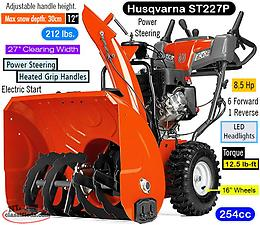 SNOW BLOWERS WITH 4 YEARS WARRANTY