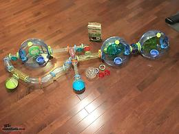 Large LOT of Hamster Habitrail Cages & Accessories