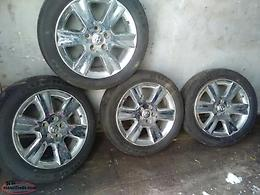 chrome rims 19 inch fit dodge van or truck