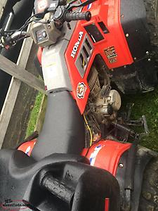 (TRADE FOR SKIDOO)1986 Honda fourtrax 350 4x4