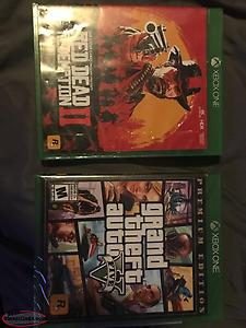 Xbox One Games—- Red Dead And GTA 5