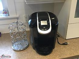 Keurig 2.0 and pod holder