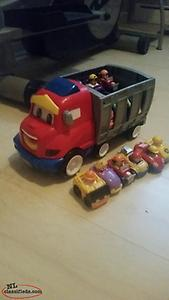 LITTLE PEOPLE Truck and Raceway