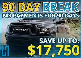 90 DAY BREAK!!! You don't make any payments for 90 days!