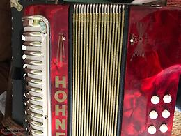 Hohner Black Button B/C Accordion (Price Reduced)