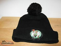 WINTER BLACK STOCKING CAP NBA