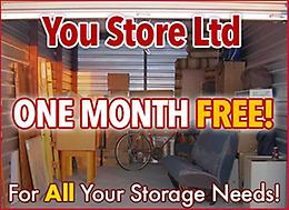 You Store Ltd - 24 Hour Storage Access - One Month FREE Rent