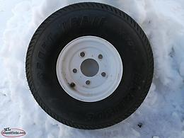 Trailer tire assembly