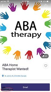 ABA Home Therapist Wanted